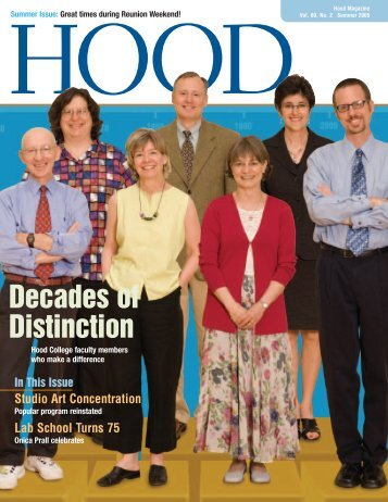 Summer 2005 - Hood College