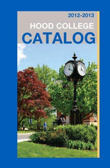 Catalog 2012-2013 pdf - Hood College