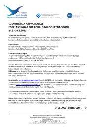 liitteessä - Vaasan ammattikorkeakoulu