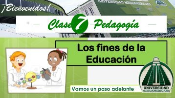 Clase Pedagogía