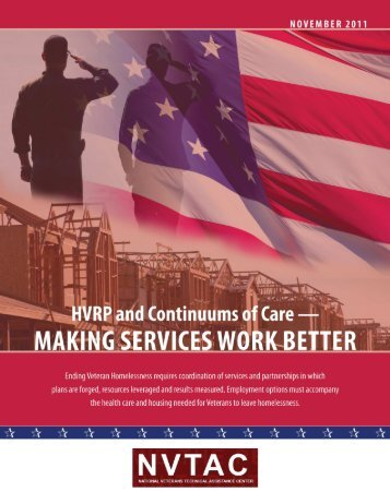 HVRP and Continuums of Care - Making Services Work ... - OneCPD