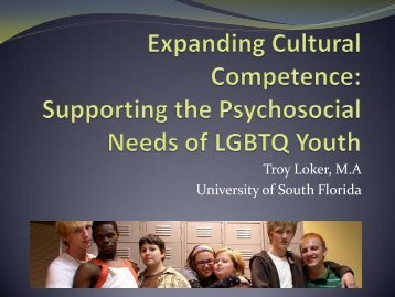 Expanding Cultural Competence - Florida Association of School ...