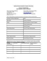 Medical Student Elective Rotation Application