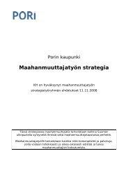 Maahanmuuttajatyön strategia - Pori