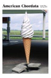 American Chordata: Issue One, Spring 2015