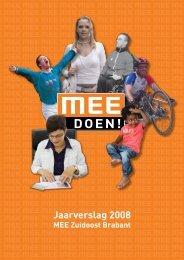 Jaarverslag 2008 - MEE Zuidoost Brabant