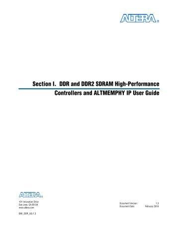 External Memory Interface Handbook Volume 3: Implementing ...