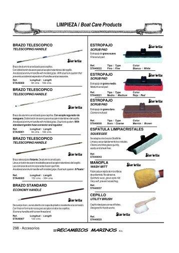 LIMPIEZA / Boat Care Products - SERAPHILUS marine doo
