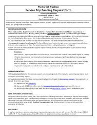 Summer Living Expense Grant Request Form The Cornell