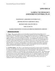 Appendix H - Sample TA/CP - Avanco International, Inc.