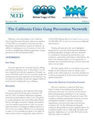 CA Cities Bulletin 3.indd - National Council on Crime & Delinquency