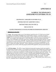 appendix h sample technology assessment/control plan - Avanco ...