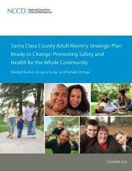 Santa Clara County Adult Reentry Strategic Plan Ready to Change ...