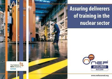 NEF Assured nuclear 050810 1517.qxp - National Skills Academy ...
