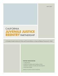 California Juvenile Justice Reentry Partnership - National Council ...