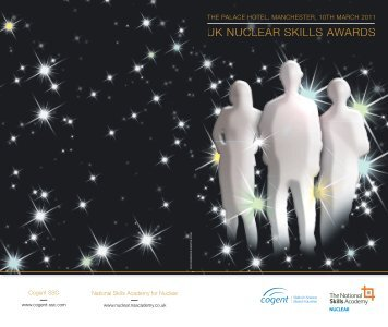UK NUCLEAR SKILLS AWARDS - National Skills Academy for ...