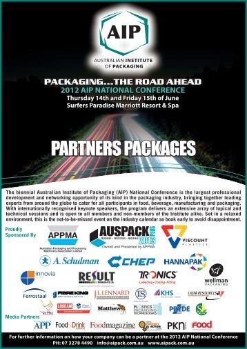 partners kit - Australian Institute of Packaging