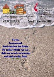 Gemeindebrief Aug-Sep 2010.DOC - Zionsgemeinde