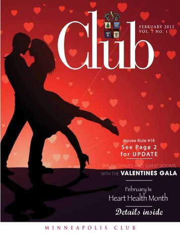 February - Minneapolis Club