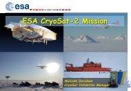 ESA CryoSat-2 Mission