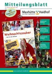Page 1 1 Mitteilungsblatt Stadt Maxhütte-Haidhof Nr. 7 19. Jahrgang ...