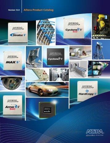 Altera Product Catalog