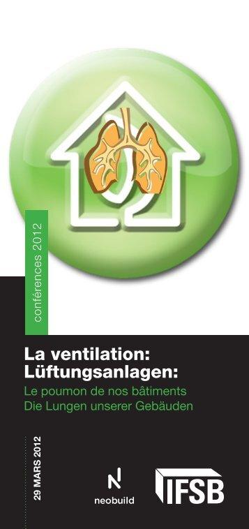 La ventilation: Lüftungsanlagen: - lifelong-learning.lu