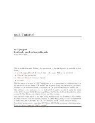ns-3 Tutorial - panthema.net