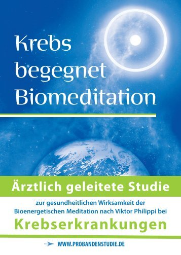 Krebs begegnet Biomeditation - Biosens am Ammersee
