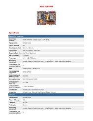 Asus P5P43TD Specifiche - OMNIA SISTEMI di Dario Farina