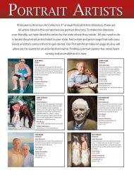 PORTRAIT ARTISTS - American Art Collector