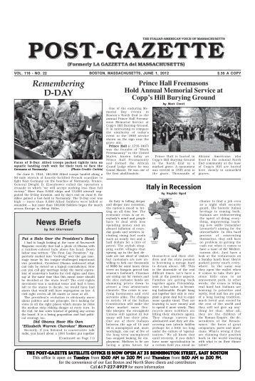 vol. 116 - Post Gazette