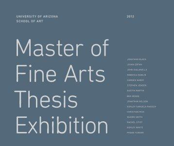 Untitled - School of Art - University of Arizona