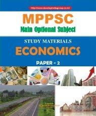MPPSC Main Exam Optional Economics Paper 2 content.pdf