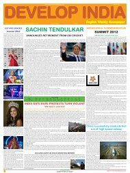 Develop India Year 4, Vol. 1, Issue 228, 16-23 December, 2012.pmd