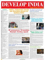 Develop India Year 4, Vol. 1, Issue 201, 10 - Developindiagroup.co.in