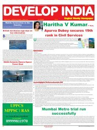 Develop India Year 5, Vol. 1, Issue 247, 28 April - 5 May, 2013.pmd