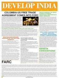 Develop India Year 4, Vol. 1, Issue 197, 13 - Developindiagroup.co.in