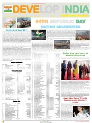 Develop India Year 5, Vol. 1, Issue 233, 20 - Developindiagroup.co.in