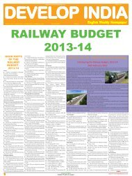 Develop India Year 5, Vol. 1, Issue 238, 24 February - 3 March, 2013 ...