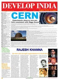 Develop India Year 4, Vol. 1, Issue 204, 1-8 July, 2012.pmd