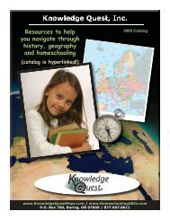 2009 Catalog - Knowledge Quest