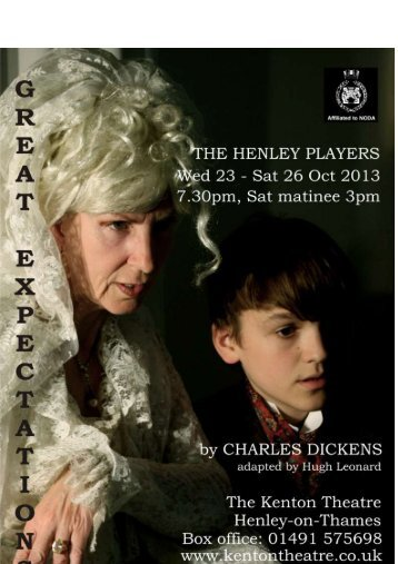 Click here to download flyer - The Henley Players