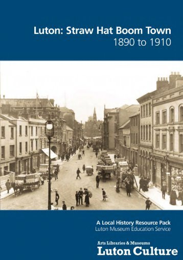Straw Hat Boom Town 1850 - Luton Culture 11a029051a9b