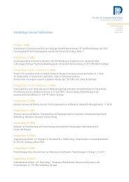Vollständige Liste der Publikationen als ... - potreck-rose.de