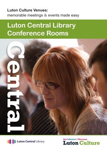 Luton Central Library Conference Rooms - Luton Culture