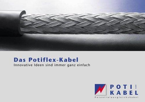 Das Potiflex-Kabel - poti-kabel.de