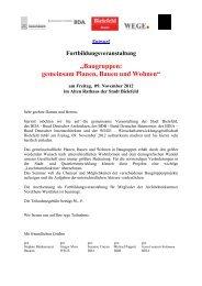 Baugruppen: gemeinsam Planen, Bauen und Wohnen - Post + Welters