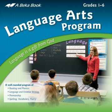 Language Arts Program - A Beka Book