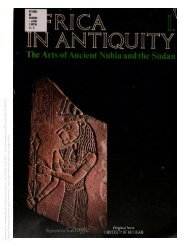 Africa in antiquity - Center for The Restoration of Ma'at